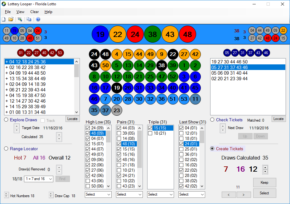 Best Lottery Software Analysis Lotto Logic / Lottery Looper