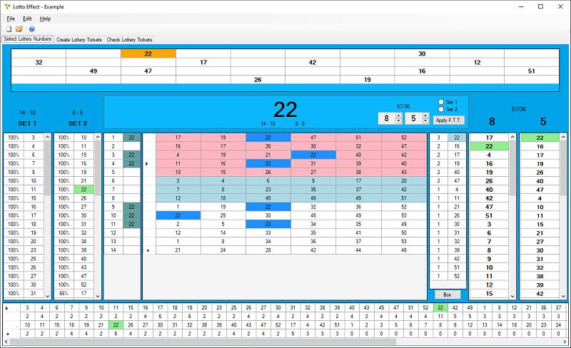 Lotto Effect screenshot