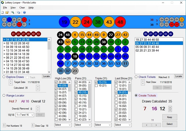 Lottery Looper Lottery Software