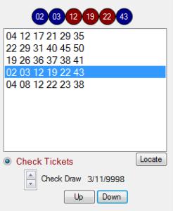 check winning lottery ticket