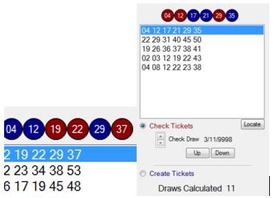pick winning lotery ticket