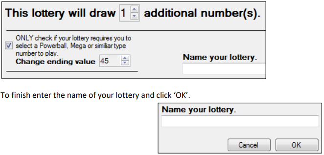 powerball extra number