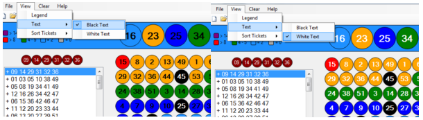 white lotto numbers